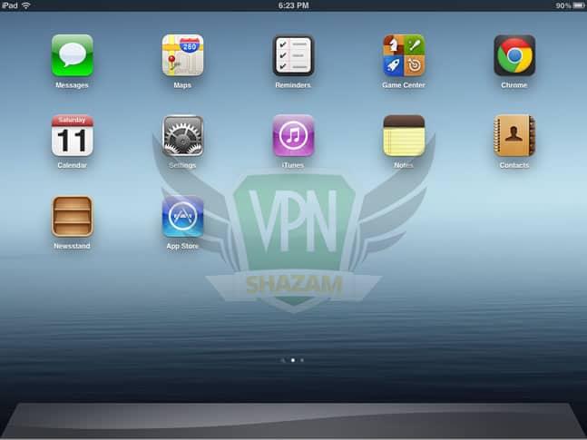 OpenVPN on the iPad/iPhone step1