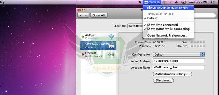 Mac OS Setup PPTP step17