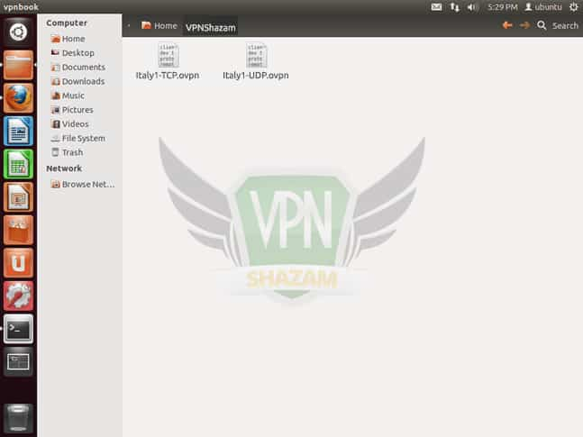 OpenVPN on the Linux step2