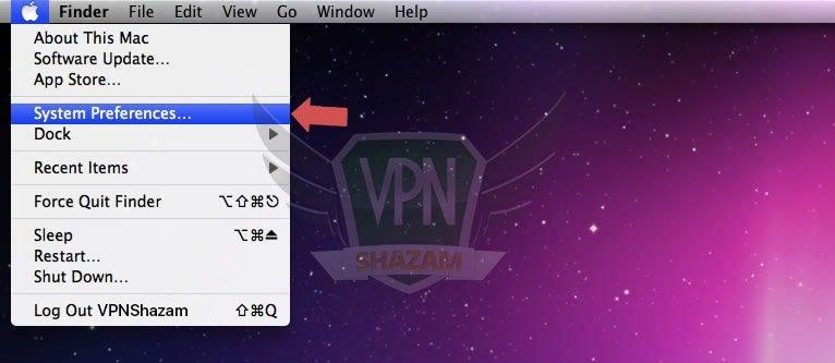 MAC OS Setup step1