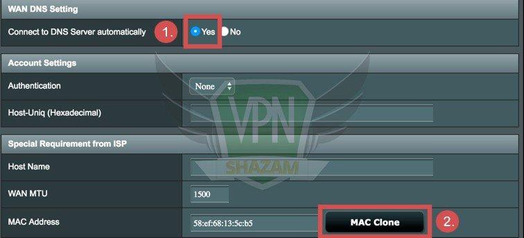 Asus Setup VPN step10