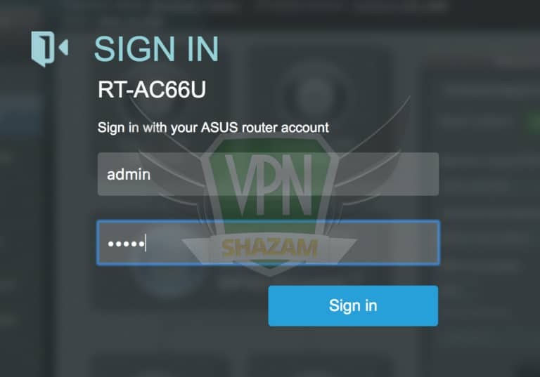 Asus Setup VPN step2