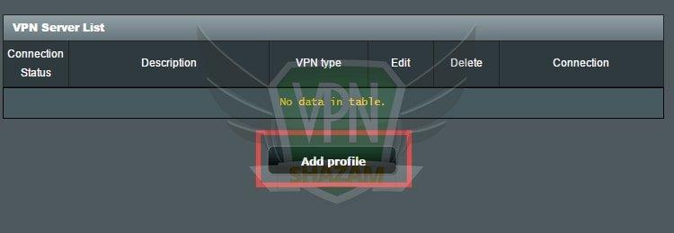 Asus Setup VPN PPTP step5