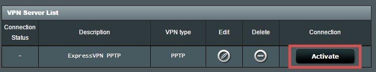 Asus Setup VPN PPTP step6