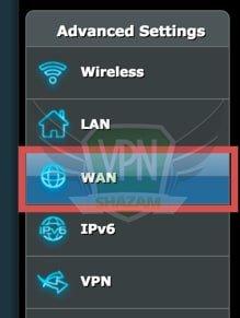 Asus Setup VPN step9