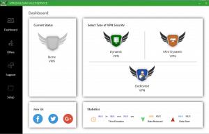 VPNShazam windows application