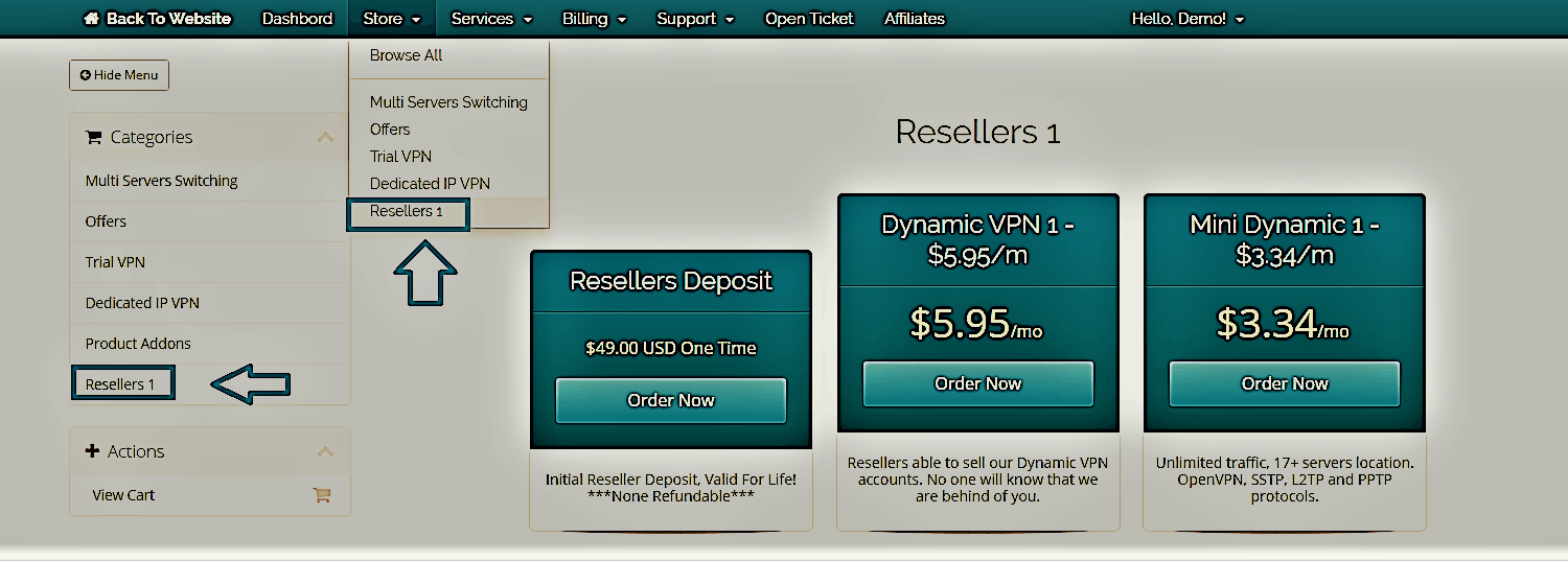Reseller packages3